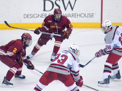 Ferris State Ties Ohio State, 2-2, Wins Shootout