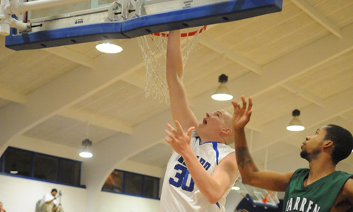 Jonathan Whitson scored 17 points for Brevard