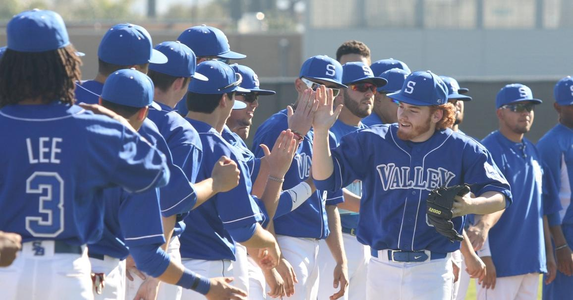 SBVC Baseball used 8 run 3rd inning to cruise past the Eagles, 13-3