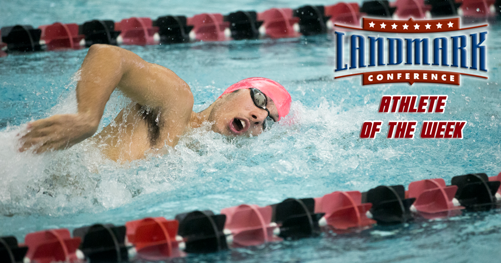 Mahon Selected as Landmark Athlete of the Week