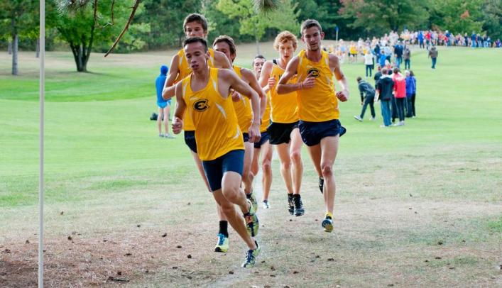 Underclassmen Carry the Blugolds to First Place Finish
