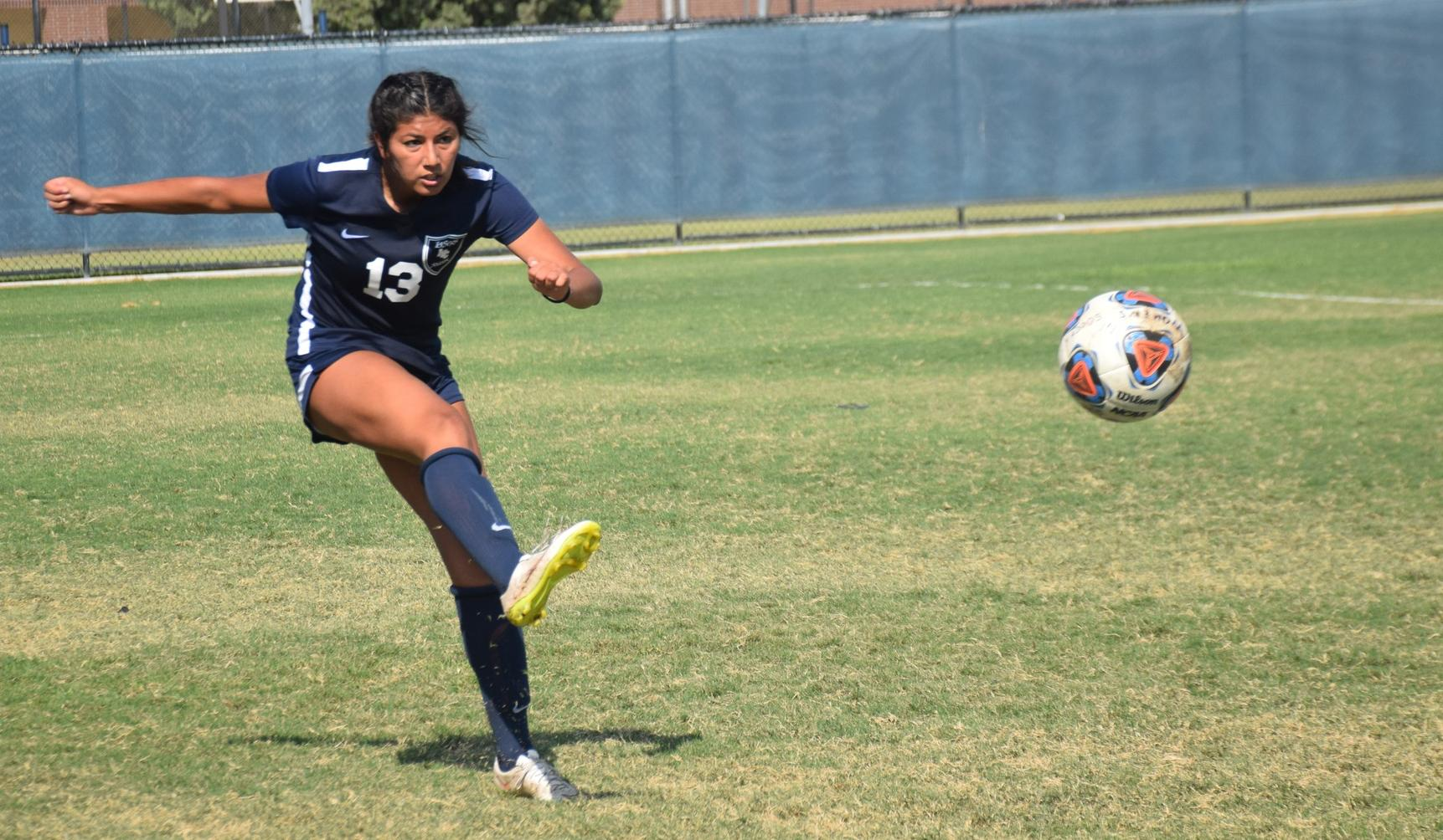Women's soccer team gets shut out at El Camino