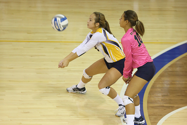 Seahawk Volleyball Falls in Four at Salisbury