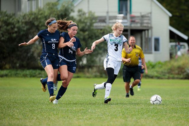 Women's Soccer goes down at home in tight match