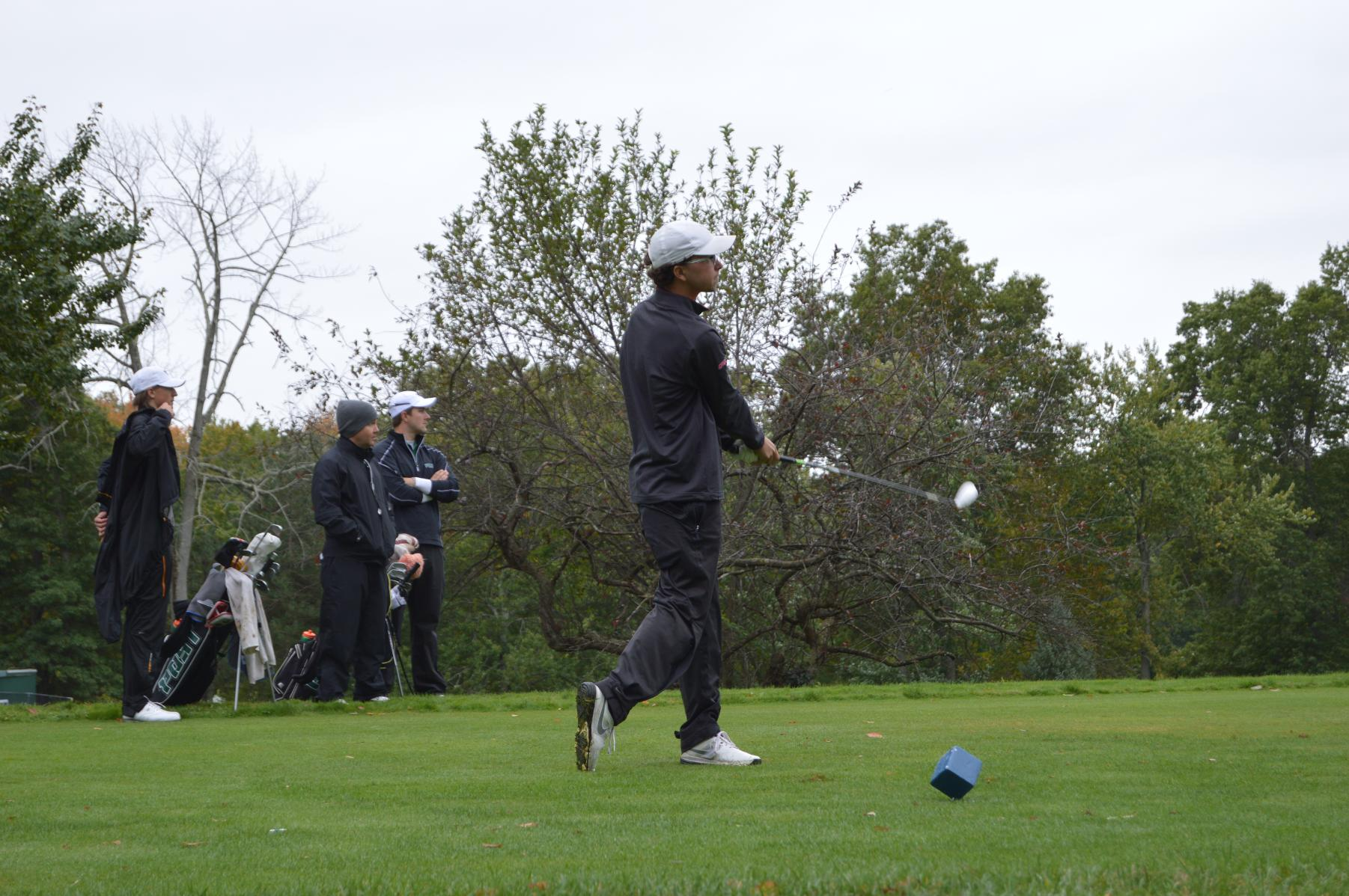 MEN'S GOLF IN SEVENTH PLACE AFTER ROUND ONE OF PENMEN FALL INVITATIONAL