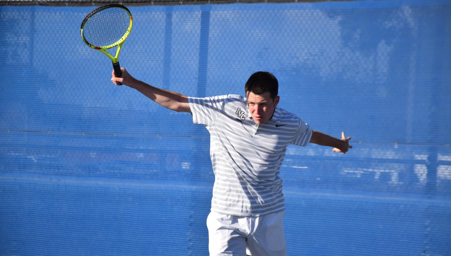 Men's tennis team beats Orange Coast for second win in a row