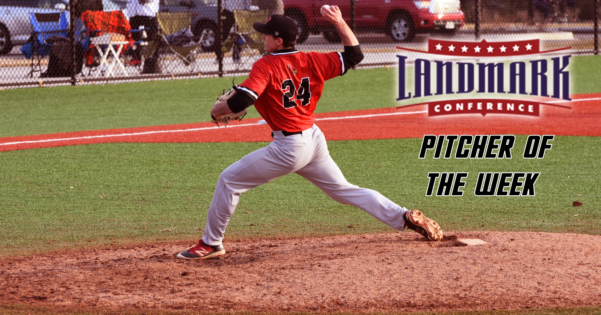 Gately Named Landmark Conference Pitcher of the Week