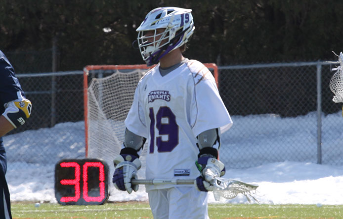 Purple Knights Fall to the Penmen, 10-7, in NE10 Action