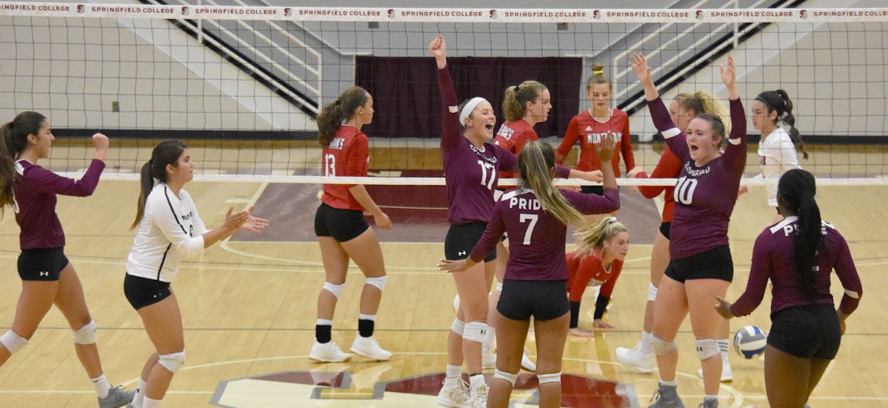 Women's Volleyball Opens Season With Sweep of Montclair State
