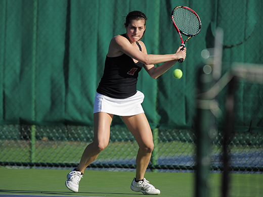 Four Fords earn spots on All-Centennial women's tennis team