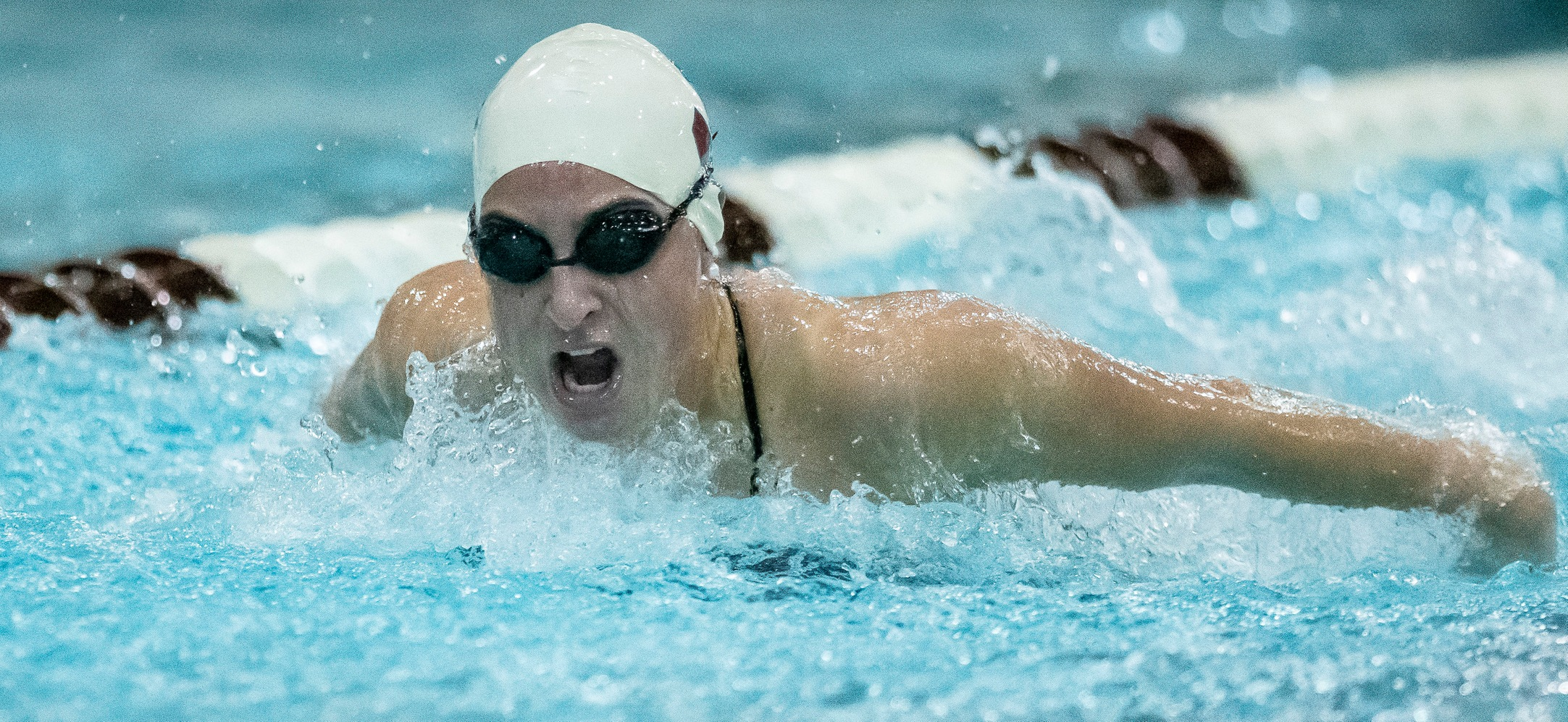 Women's Swimming and Diving Tops Smith, 168-124