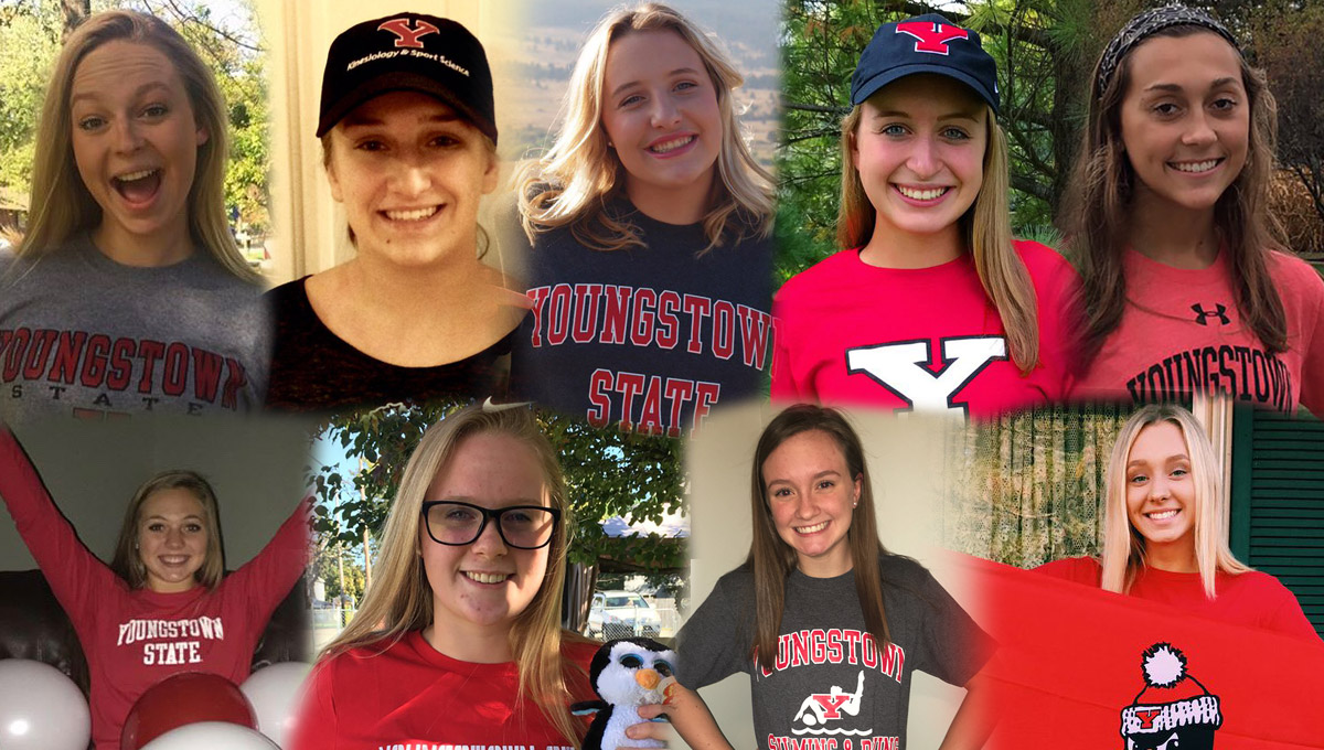 Seven swimmers and two divers has signed National Letters of Intent to join the YSU program.