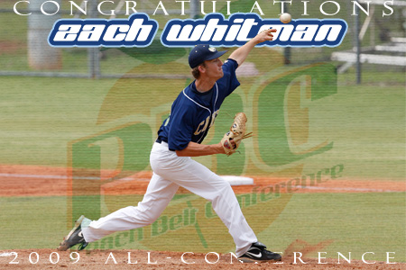 Whitman named to All-Peach Belt team