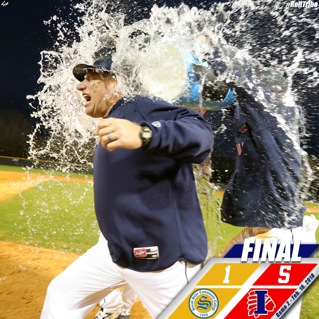 Indians sweep Snead State with 5-1 win in Game 2
