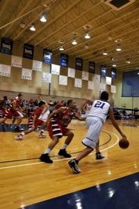 Falcon men edge Benedictine 85-83