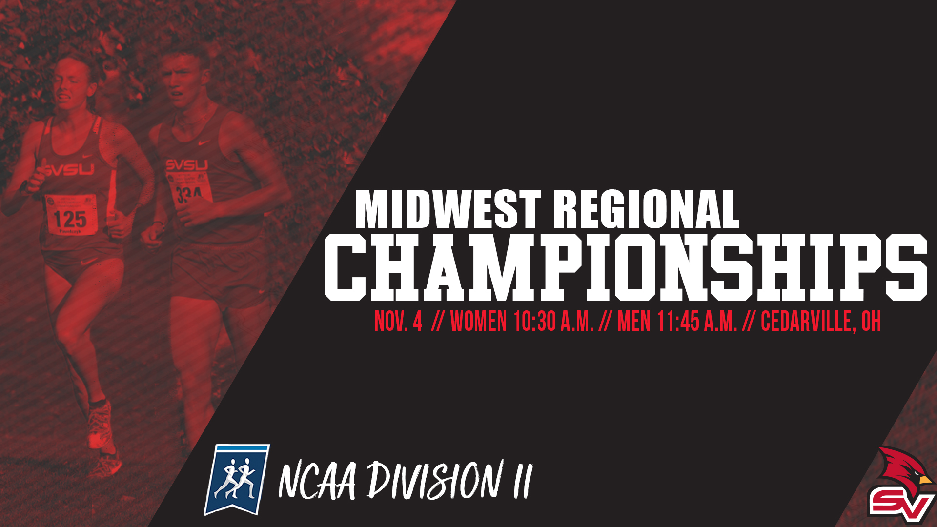 SVSU Cross Country Heads To NCAA Midwest Regional Championships