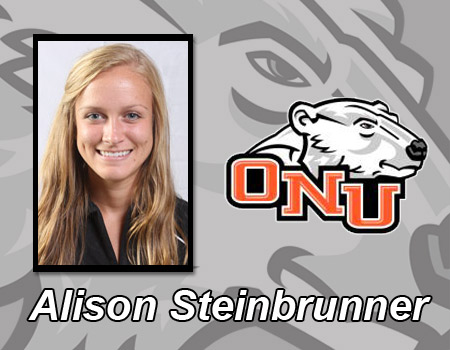 Alison Steinbrunner breaks own record as Women's Indoor Track & Field competes at Northwest Ohio Meet