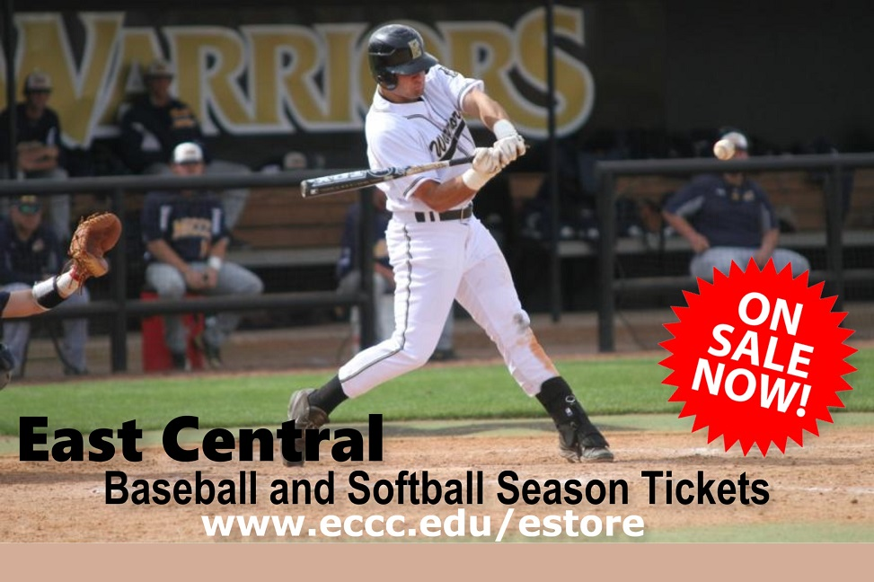 ECCC Announces Season Ticket Sales for Baseball, Softball