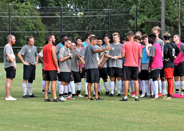 The Huntingdon men's soccer team is looking to build off of a productive preseason.