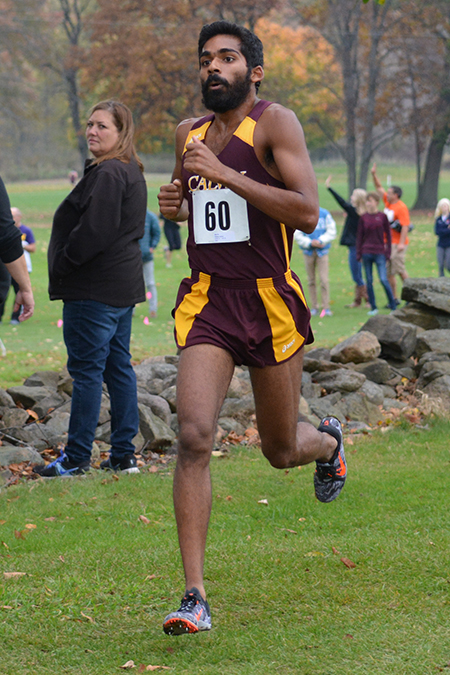 Andrew Philipose, Calvin, Men's Cross Country Athlete of the Week 10/16/17