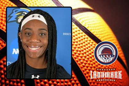 Freshman Anise Williams Named Landmark Conference Athlete of the Week