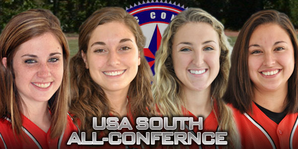 Softball: Four Panthers named to USA South all-conference teams