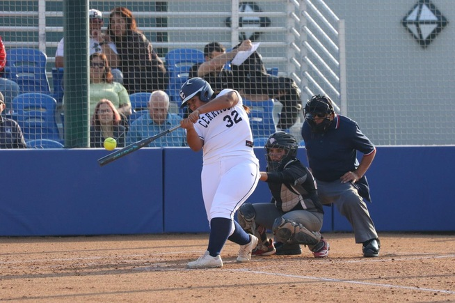 File Photo: Kayla Hernandez drove in four runs for the Falcons