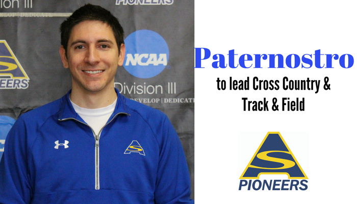 Paternostro Named Interim Cross Country and Track & Field Coach