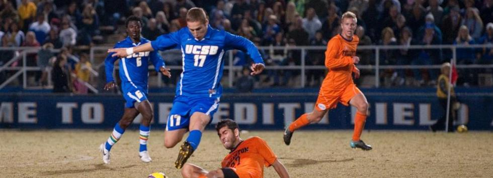 Garza's Golden Goal Gives Gauchos Game