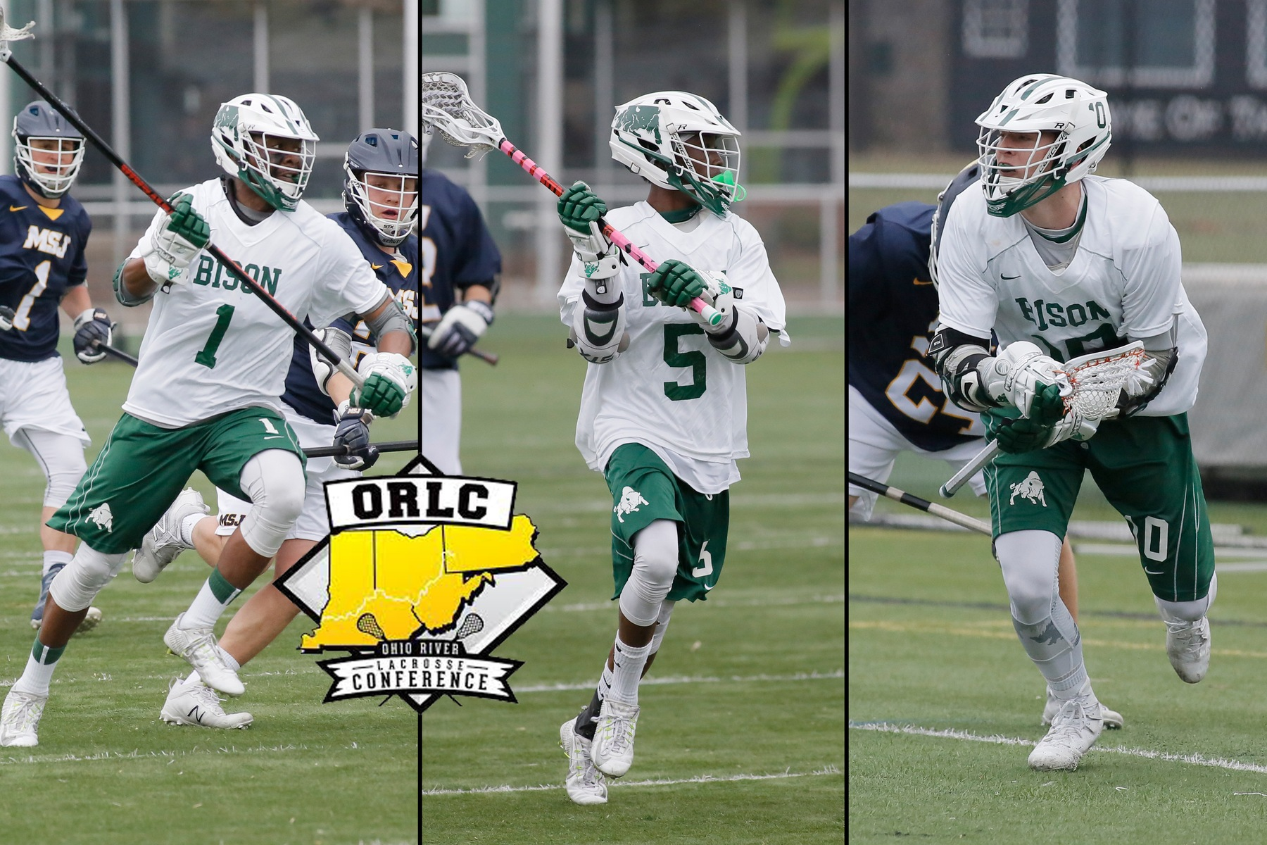Men's lacrosse places six on All-ORLC teams