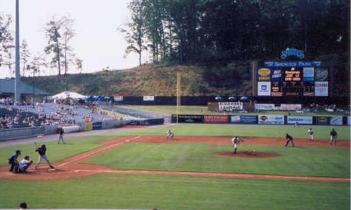 Smokies Park will host the Brevard and Carson-Newman baseball teams on April 5