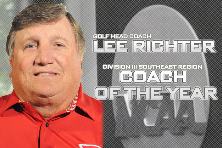 Richter named Region Coach of the Year