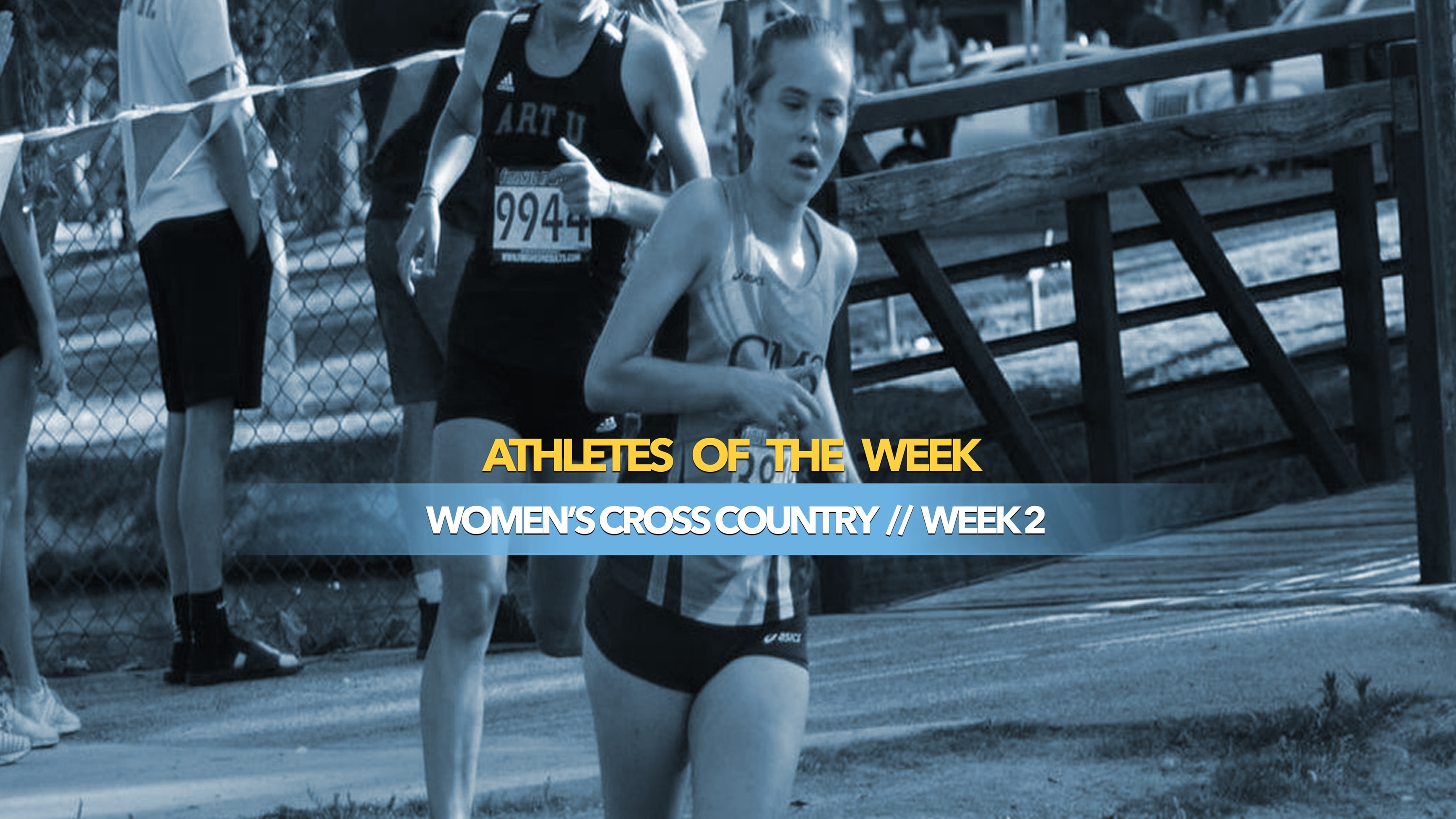 Women's Cross Country Athlete of the Week: September 9, 2019