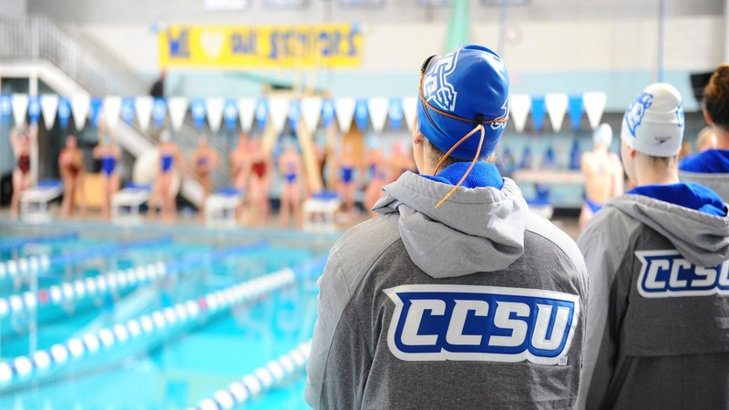 Swimming Falls Short to UNH in Dual Meet Saturday