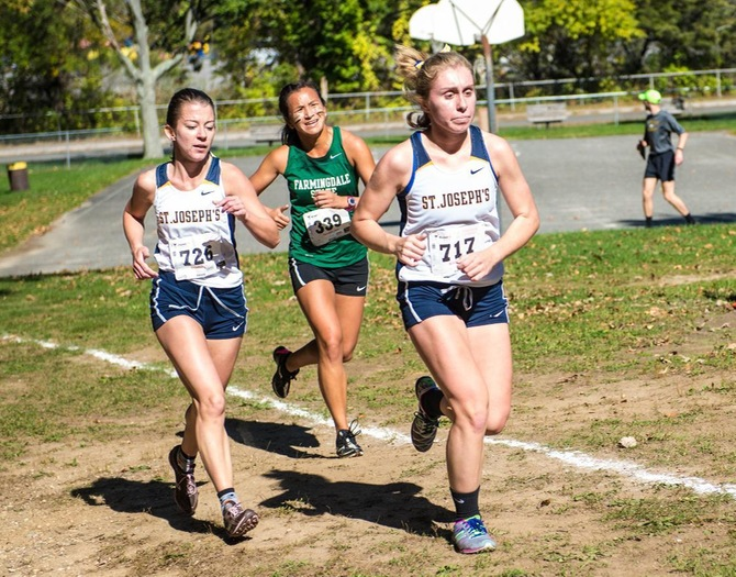Women's Cross Country Wins Mt. St. Mary Invitational, Men Finish Ninth