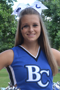 Cheer/Dance: Amanda Fox
