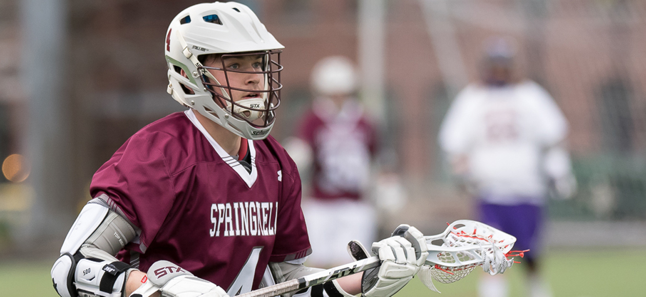 Men's Lacrosse Eases Past Emerson in NEWMAC Opener