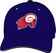 Gavilan College Rams Hat with Logo