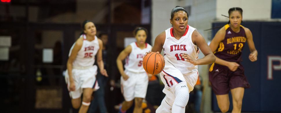 Women's Hoops Fall to Bloomfield at Home in CACC Action, 74-52