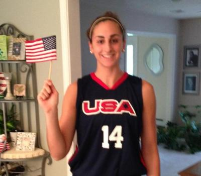 Lauren Battista is getting ready to head to Israel for the Maccabiah Games