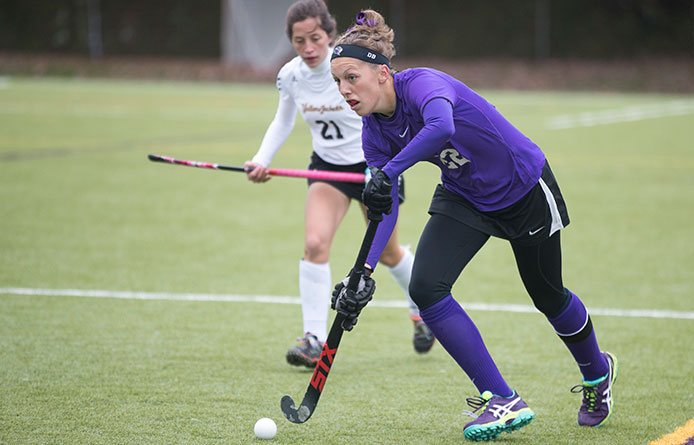 Deschaine Nets Lone Tally, Hurley Preserves Field Hockey's 1-0 Win in Final Moments