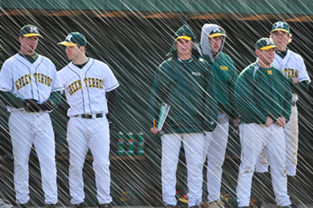 Weather forces baseball changes