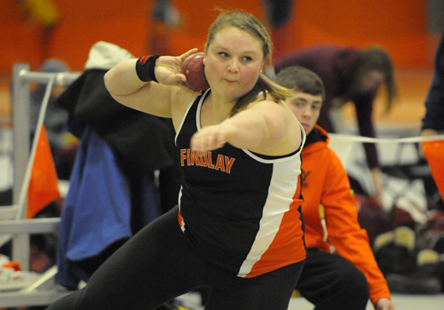 Elite Throwers Compete at Findlay Open