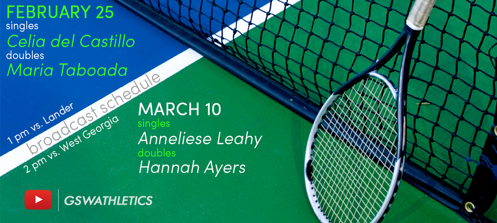 Broadcast Schedule Announced For Women's Tennis