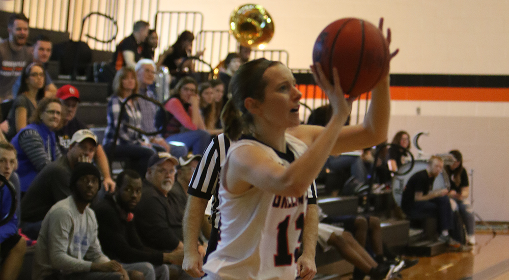 Women's basketball gains redemption against Webster