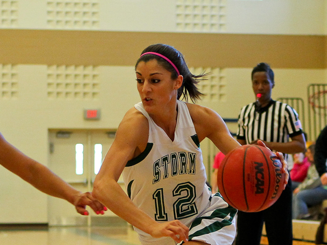 Caiola Hits 1,000-Point Mark As Storm Wins Sixth Straight
