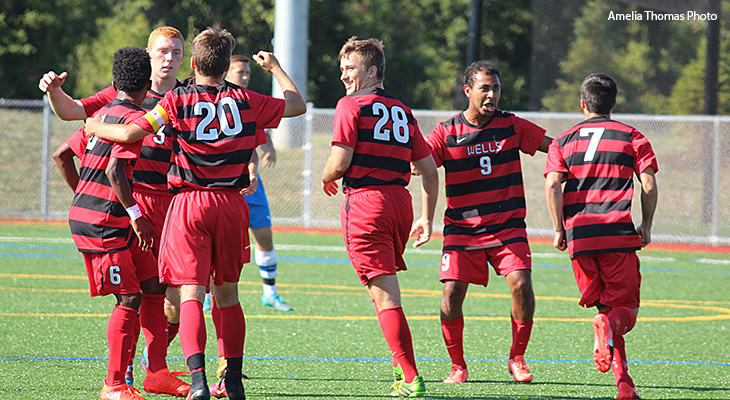 Offense Leads Way In Men's Soccer Victory Over Hilbert