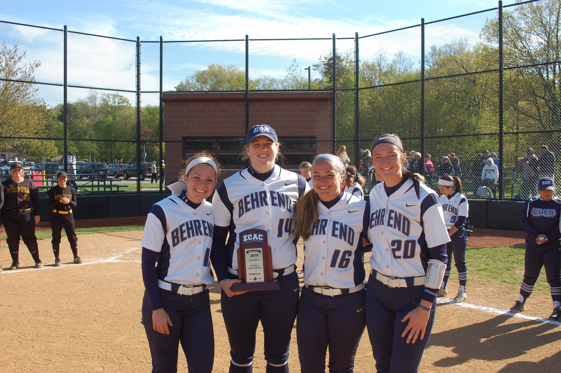 Softball Finishes Runners Up in ECAC Championships