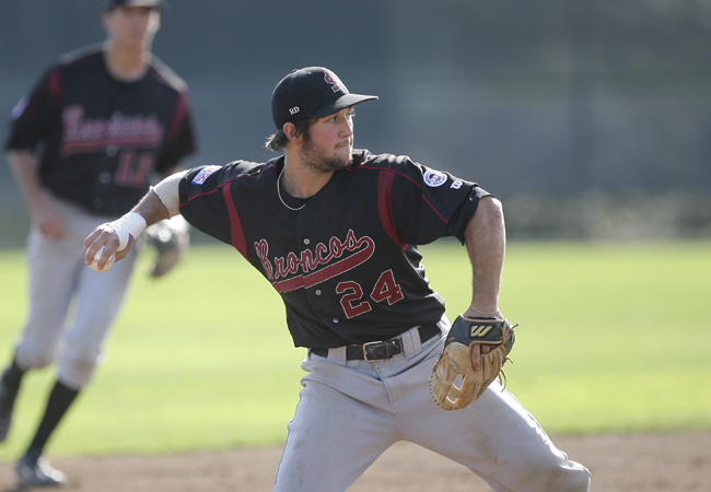 Bronco Baseball Falls to No. 14 Stanford