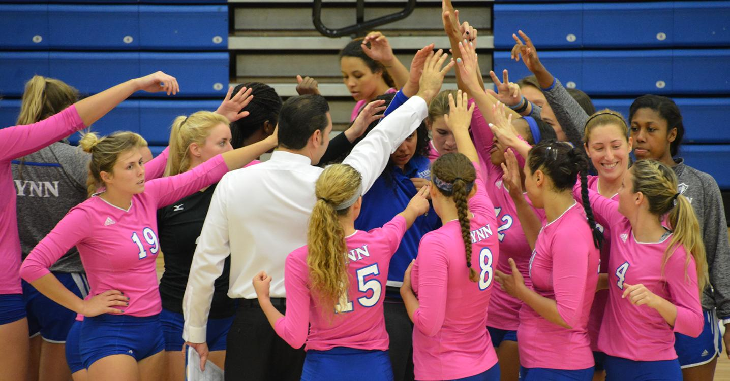 Volleyball Rolls over Rollins for First Conference Victory
